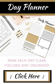 Instant Download  Day Get It Done Printable Workbook Organiser