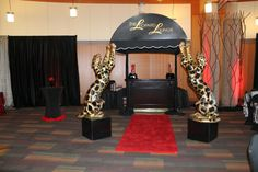 Cheetah Party Decorations | Leopard Burlesque Birthday Bash - Fearon May Events