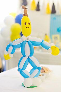 Bananas in Pajamas Birthday Party - Bella Paris Designs