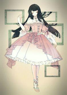 Anime Girl Dress, Manga Anime Girl, Kawaii Anime Girl, Pretty Anime Girl, Beautiful Anime Girl, Cute Anime Pics, Anime Love, Cute Anime Character, Character Art