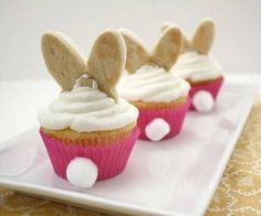 Funny cupcake, bunny cupcake