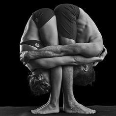 "heyitisrissa: "" couples yoga! Definitely doing this eventually… :) """