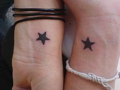star wrist tat