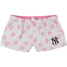 Image detail for -New York Yankees Women's Pink Essence Shorts via Polyvore