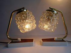 Vintage Tischlampen - 2 Tischlampen - Lampe 60er Jahre - ein Designerstück von MaDuett bei DaWanda
