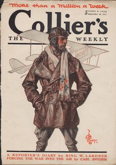 J.C. Leyendecker   29 Sep 1917 Cover of Collier's Weekly
