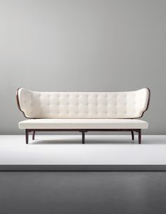 Vilhelm Lauritzen; Rosewood Sofa from the Royal Suite, Radiohuset (National Broadcasting House) by A.J. Iversen, 1940. Denmark