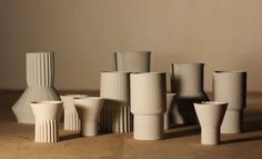 Davide Tuberga -  3D printed porcelain.