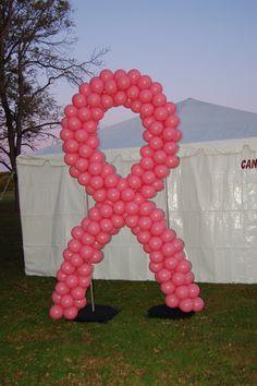 Breast cancer decore