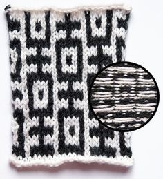 Give Them the Slip: In Defense of Mosaic Knitting