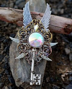 Never gonna give you up Never gonna let you down by KeypersCove on DeviantArt Urban Jewelry, Key Jewelry, Moon Jewelry, Cute Jewelry, Jewelery, Fantasy Jewelry, Gothic Jewelry, Magical Jewelry, Kawaii Jewelry