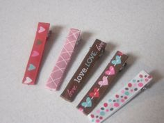 Ribbon lined hair clippies by SoPrettys on Etsy, $4.00