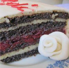 Meggyes-grízes máktorta Recept képpel - Mindmegette.hu - Receptek No Bake Desserts, Baking Desserts, Cheesecake, Food And Drink, Poppy, Cakes, Cake Makers, Cheesecakes, Kuchen