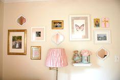 Image result for nursery wall frames shelves