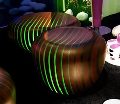 """Hocker """"Bright Woods Collection"""" by Giancarlo Zema for Avanzini Group"""