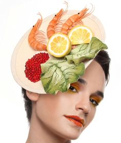 Delicious Food Hats Collection by Maor Zabar : Fashion, Beauty