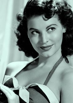 """""""Because I was promoted as a sort of a siren and played all those sexy broads, people made the mistake of thinking I was like that off the screen. They couldn't have been more wrong. """" Ava Gardner"""