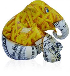 Fish and Chips | Elephant Parade | Contributing to the conservation of Asian Elephants