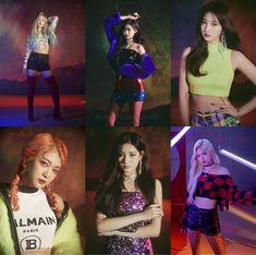 #EVERGLOW   1ST MINI ALBUM [REMINISCENCE] K Pop, South Korean Girls, Korean Girl Groups, Mamamoo, Blackpink Memes, Bias Kpop, Kdrama Memes, Doja Cat, Photo Grouping