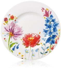 Villeroy & Boch Anmut Flowers Salad Plate