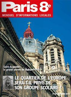 Paris 8e - N°30 - Octobre 2011 - A lire sur : http://fr.calameo.com/read/0005369661f9ea68edbaa