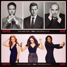 Suits USA!! My favorite show with the best acting and writing on TV!!