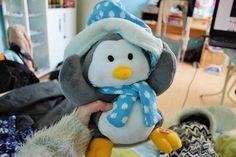 stuffed penguin. ♡ Lucas Robert Hemmings!!