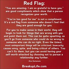Compliment or red flag Narcissistic Sociopath Abuse Recovery. Narcissistic People, Narcissistic Behavior, Narcissistic Abuse Recovery, Narcissistic Sociopath, Narcissistic Personality Disorder, Narcissistic Boyfriend, Narcissist Father, Relationship Red Flags, Abusive Relationship