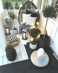 41 functional and stylish laundry room design ideas to inspire 2 « Home Design Small Balcony Design, Small Balcony Decor, Small Patio, Tiny Balcony, Balcony Decoration, Balcony Ideas, Patio Ideas, Landscaping Ideas, Backyard Landscaping