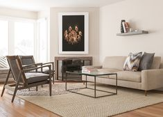 Contemporary And Comfortable Living Room Design Ideas Rooms Designs Decorating
