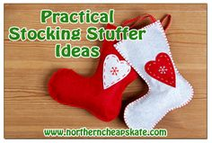Stop wasting money on cheap plastic junk and give some fun AND practical stocking stuffers this year!
