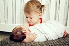 Siblings, Austin newborn photography
