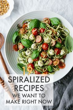 19 Spiralized Recipes We Want To Make Right Now