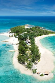 Offshore secluded island, reachable by boat from Sandals Royal Bahamian in the Bahamas
