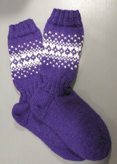 Handmade wool socks Wool Socks, Knitting Socks, Joko, Handmade, Fashion, Knit Socks, Moda, Woolen Socks, Hand Made