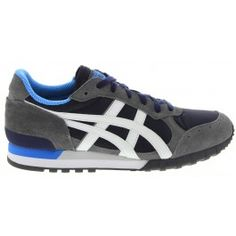 WOMENS NAVY & OFF WHITE COLORADO 85 SNEAKERS by ONITSUKA TIGER