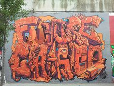 Stunning work by Bone and Noble from Barcelona, painted in Sabadell (Spain). The piece says 'Future Classics'. Damn right!