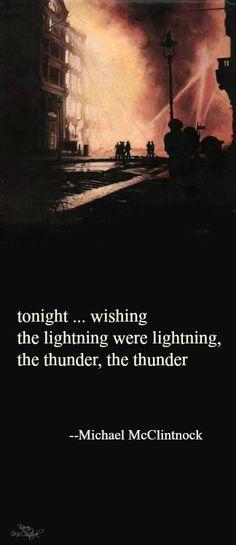 Haiku poem -- tonight...wishing -- by Michael McClintock.