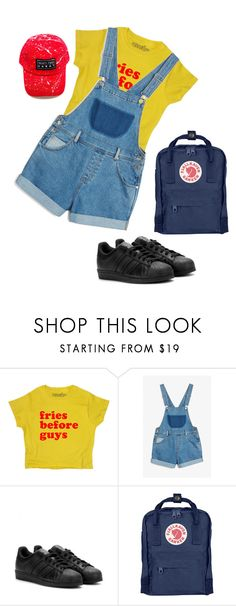 """you make fireworks go off in my heart"" by qlexandrea ❤ liked on Polyvore featuring Monki, adidas, Fjällräven, vintage, Hipster, tumblr, grunge and artsy"
