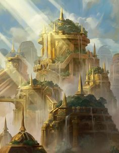 An ancient Minstaaran city Credit: City's Blessing by Yeong  Hao Han