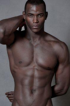 Celebration of the Male Beauty : Photo Hot Black Guys, Hot Guys, Black Man, Hot Men, Black Boys, Black Is Beautiful, Gorgeous Men, Dark Skin Men, Black Male Models