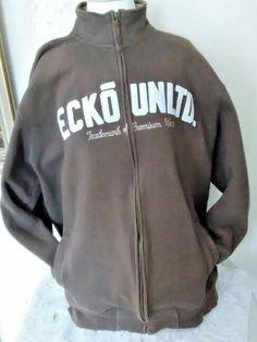 ECKO Unltd Trademark Of Premium Wears Zip Up Mens Coat #EckoUnltd #zipup