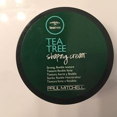 Tea Tree Shaping Cream by Paul Mitchell Tried twice, but I am not into styling creams.  Majority of the cream is left. Other