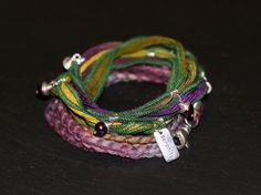 Serenity Multi Kaleidoscope Warrior Wrap with by alccreations, $174.00