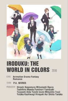 Fantasy Romance, Minimalist Poster, Drama, Animation, Studio, Anime, Color, Cartoon Movies, Drama Theater