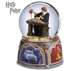 Harry Potter Ron Weasley Howler Waterglobe San Francisco Music Box Company 2001