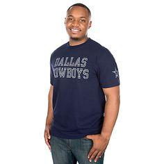 a168040f8de36 Dallas Cowboys Double Cut Tee Dallas Cowboys Pro Shop