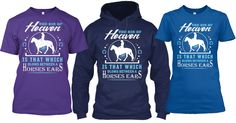 THE AIR OF HEAVEN is that which blows between a Horses Ears.  Available in Tees and Hoodies from Size Small to 5x.  Grab one today!