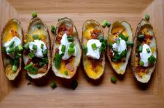 Potato Skin-nies - Surprisingly delicious for only 1 Weight Watchers Points Plus and 54 calories!