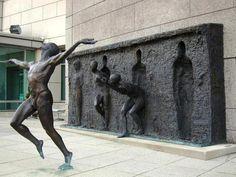 'Freedom'  Unusual sculpture by Frudakis Zenoss      Fantasy Art: https://www.facebook.com/fntsyArt